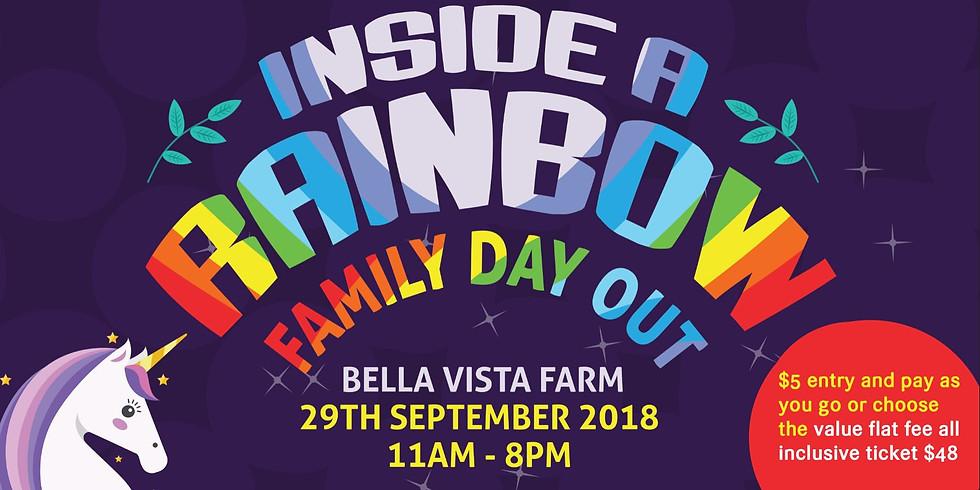 Inside a Rainbow Festival