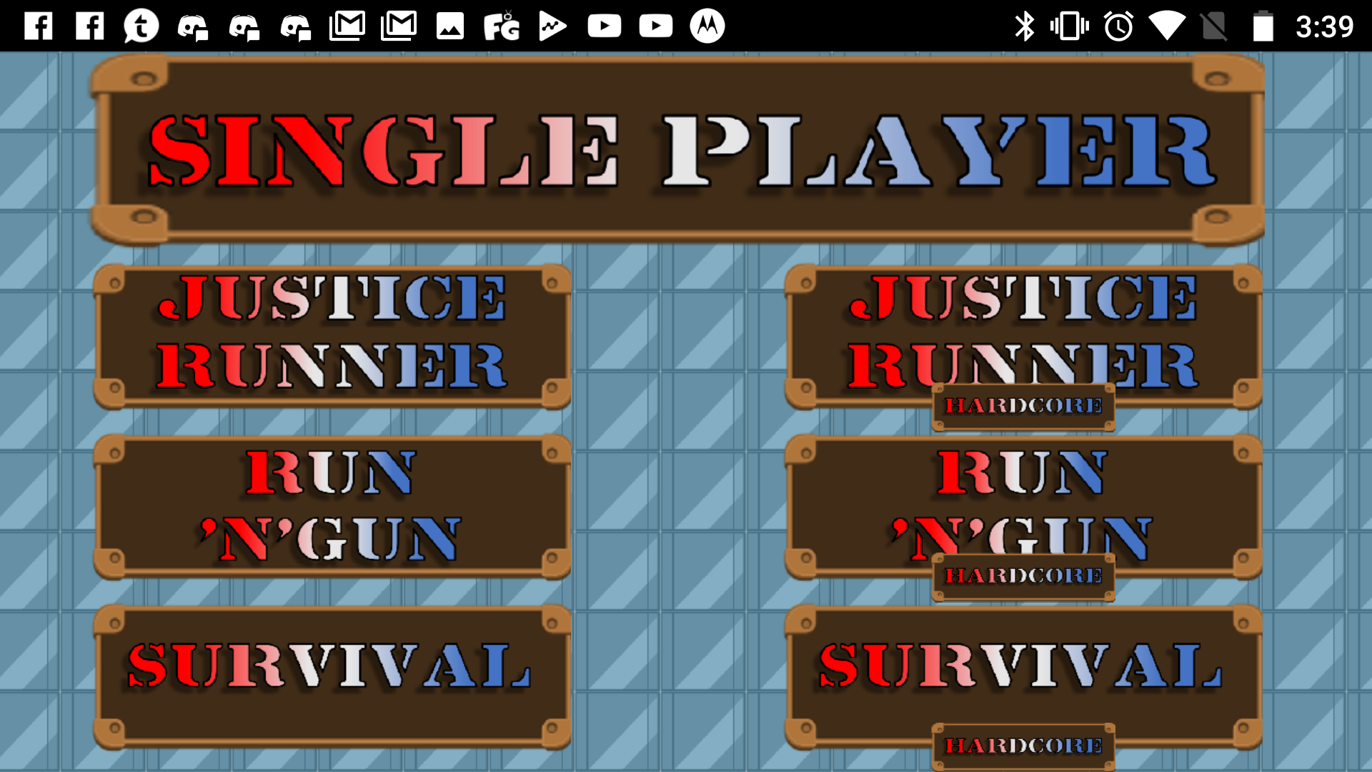 Single-Player Menu