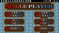 Single-Player Menu