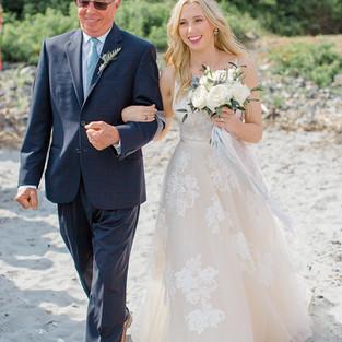 celia + jimmy's wedding in kittyer point