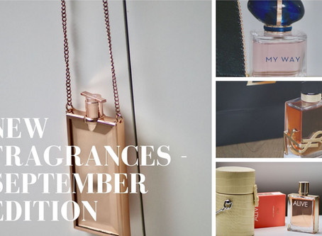New fragrances - September edition