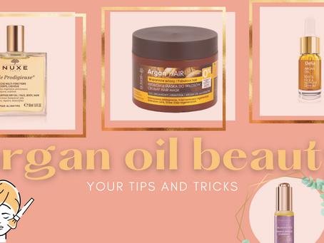 Argan oil based cosmetics