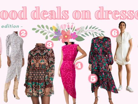 Good deals on dresses