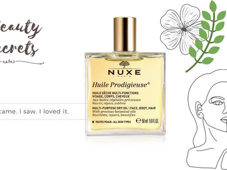 Multi-purpose dry oil from Nuxe