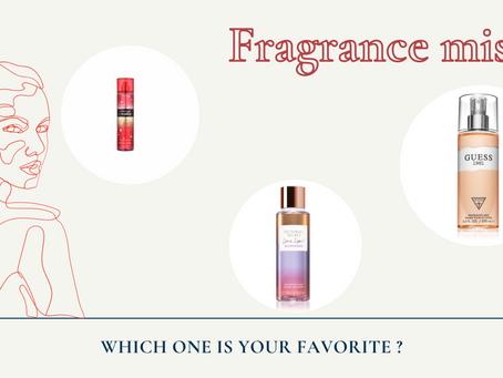Fragrance mist - what to choose ?