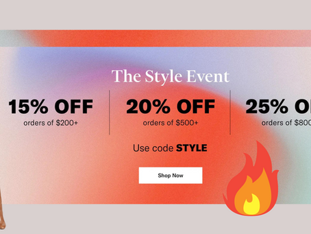 The Style Event - Shopbop SALE