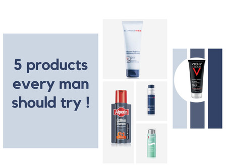 5 products every man should try