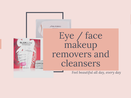 Eye / face makeup removers and cleansers