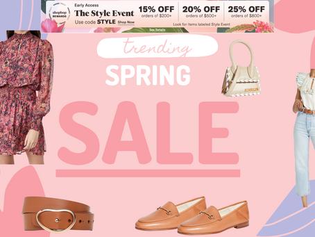 Spring Sale at SHOPBOP
