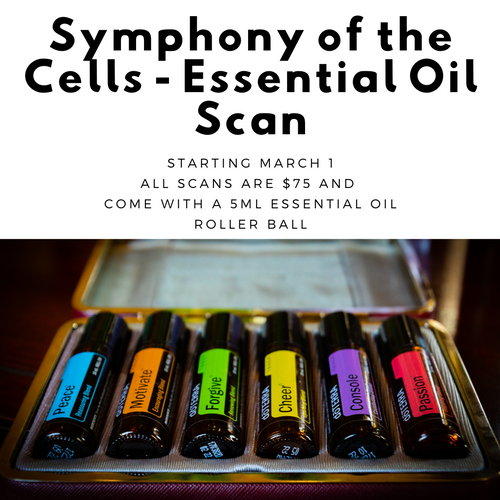 Symphony of the Cells Essential Oil Scan