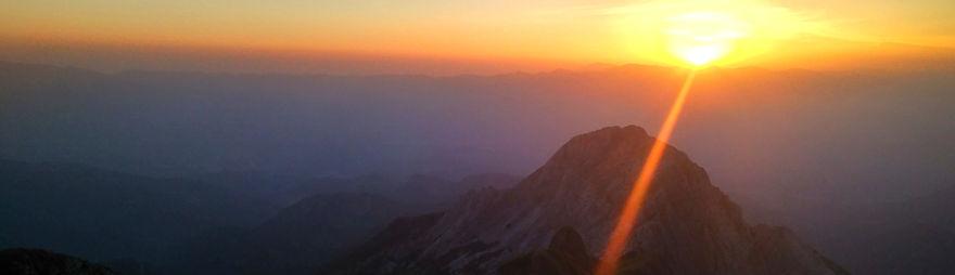 Alba in Pania - Alpi Apuane