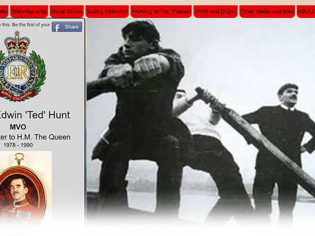 Website: Major Edwin 'Ted' Hunt MVO