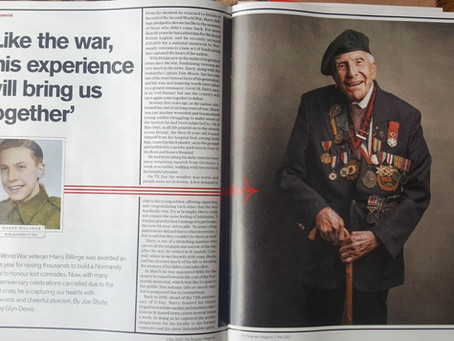 "The Telegraph: WW"" Veteran Harry Billinge MBE"