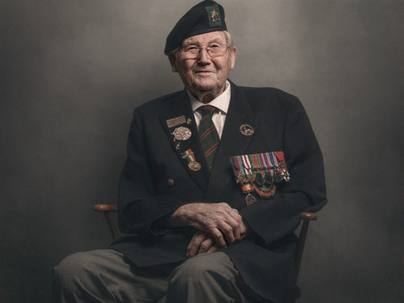 A Tribute to WW2 Veteran David Edwards