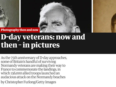 The Guardian: D-Day Veterans then and now