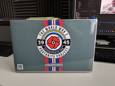 My new 3945 Portraits Laptop Skin