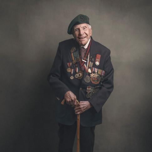 Harry Billinge MBE: Royal Engineers
