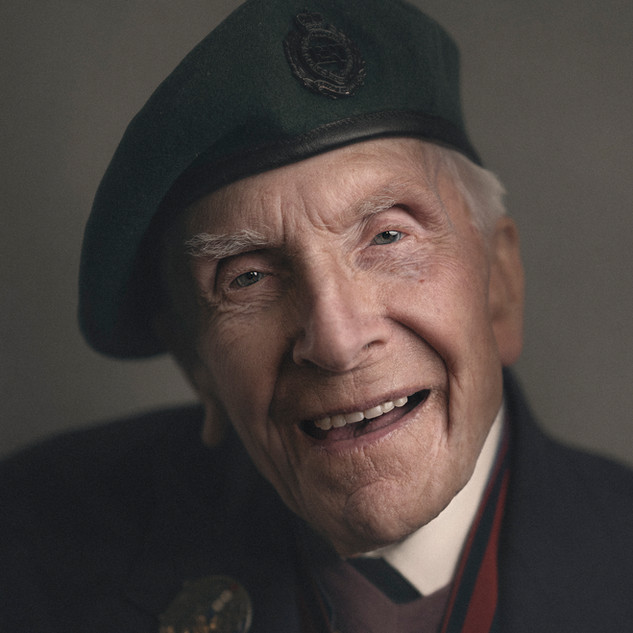 Harry Billinge MBE: Royal Engineers
