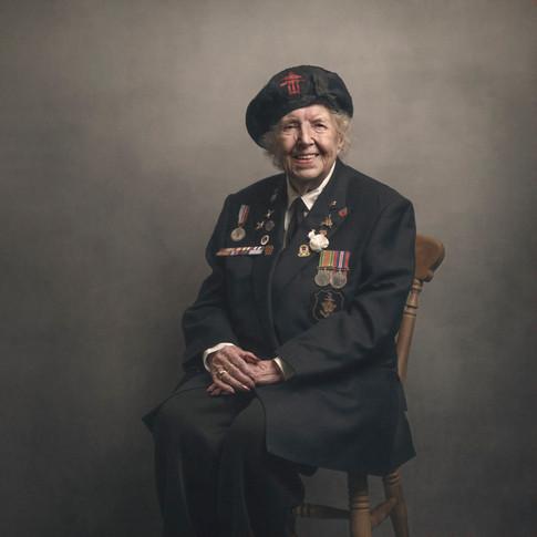 Connie Bateman: WREN (Women's Royal Naval Service)
