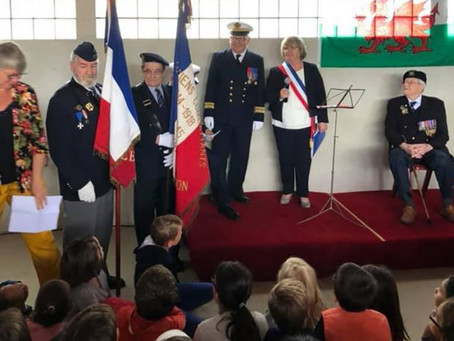 David Edwards presented with Légion d'Honneur