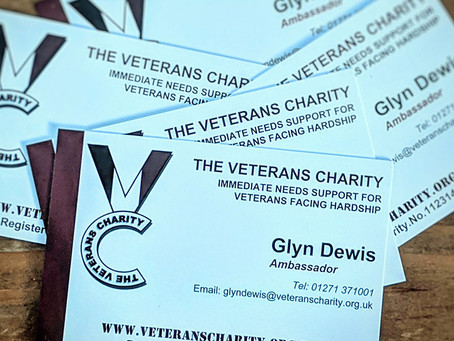 Ambassador of The Veterans Charity