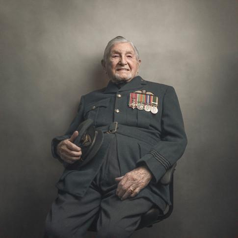 Squadron Leader Eric Robinson OBE