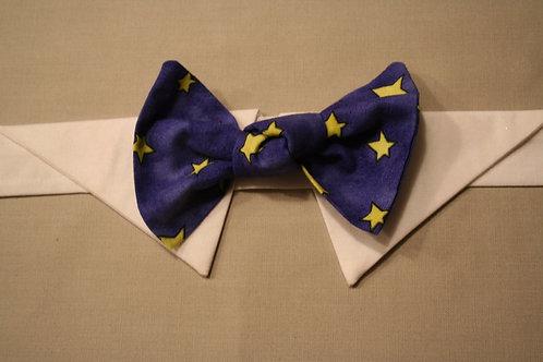 Gold Stars (Blue)