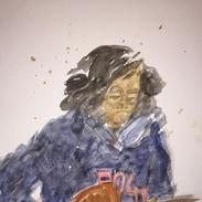 """Portrait of """"Jimmy""""__#portrait #watercol"""