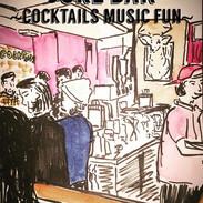 Sketch at Juke Bar #jukebarnyc #juke #ba