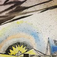 City__#watercolor #water #color #city #g