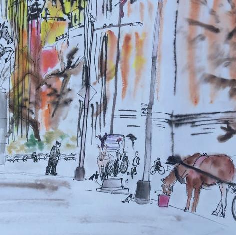 Sketch#1. Central Park