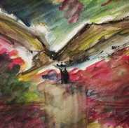 Fly_#fly #bird #watercolor #painting #ar