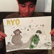 "Portrait of ""Ryo""_#ryo #dj #bk #brooklyn"