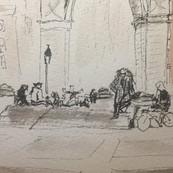 Sketch#2. Washington Square