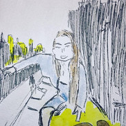 Portrait _ SARA__#sara #manhattan #newyo