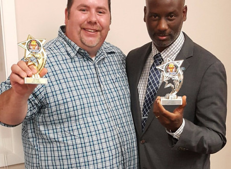 Essex Toastmasters Sweeps Area Competition!