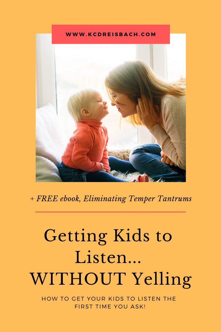 How to get kids to listen the first time