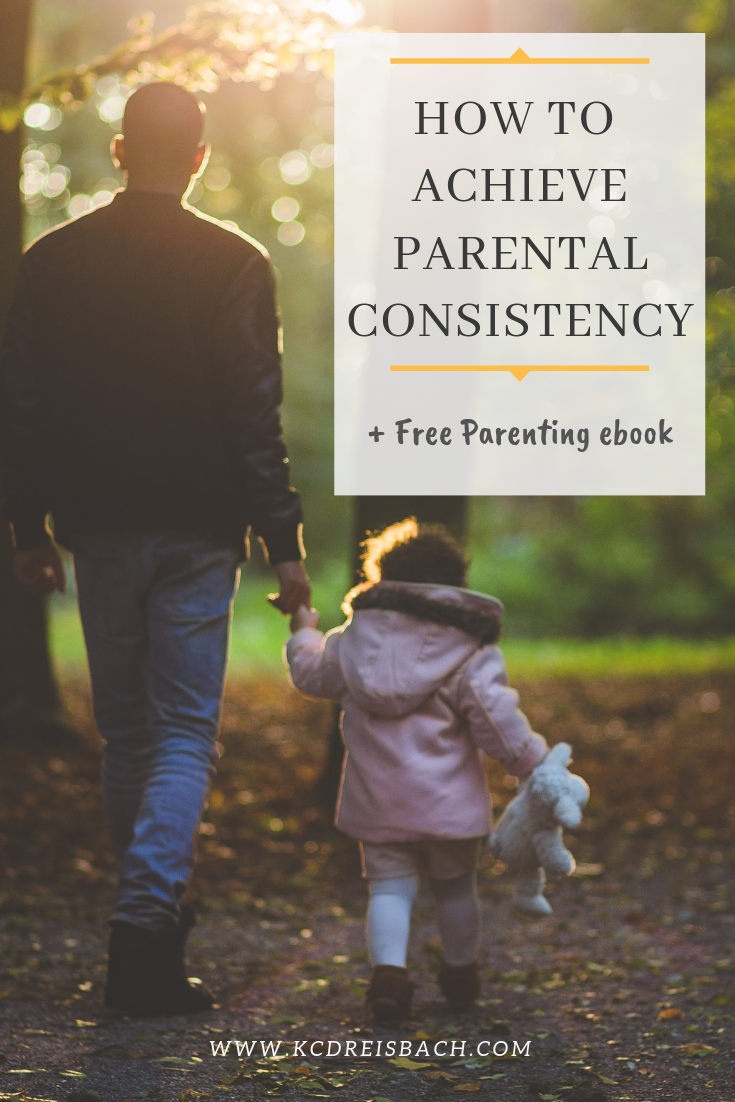 How to be consistent as a parent
