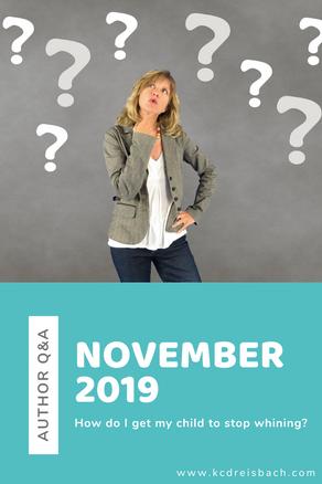 Author Q&A: November 2019