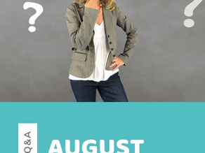 Author Q&A: August 2019