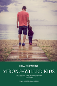 parenting strong willed kids
