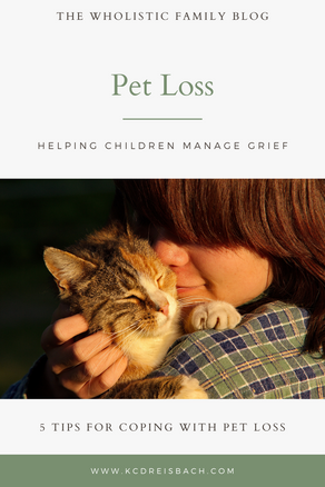 Pet Loss: 5 Tips for Coping with Pet Loss