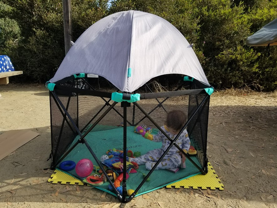 5 Tips to Camp with a Baby
