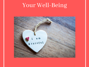 How Gratitude Contributes to Your Well-Being