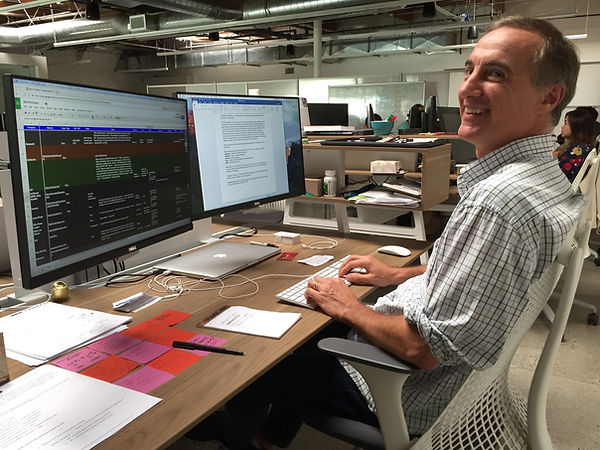 George Zaloom at work.jpg