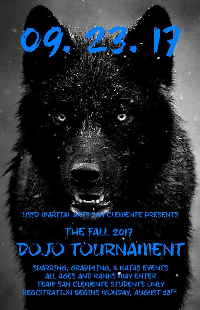 *UPDATE* Fall 2017 Dojo Tournament