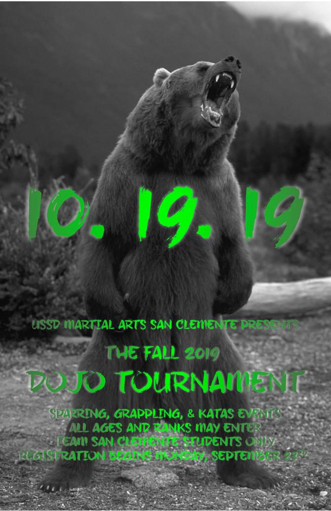 ***UPDATED*** Fall 2019 Dojo Tournament!