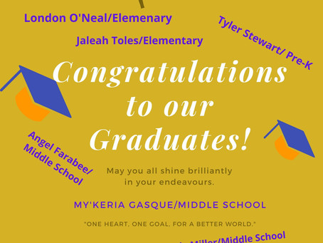Shout Out to our 2020 Graduates!