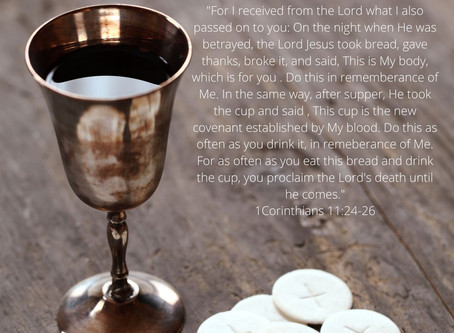 Communion - What does that mean to you?