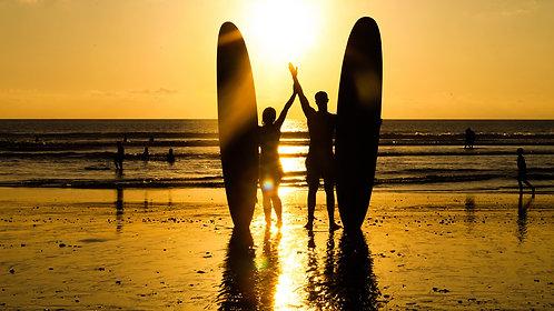 바이런베이 주말 서핑레슨 캠프 2박3일